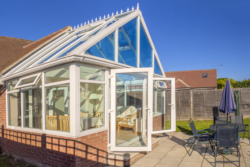 Glass Conservatory in Swindon Wiltshire